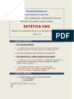 ESTÉTICA I PROYECTO DE CONSTRUCCICONTENIDOS(08SET.2010)