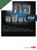 Interruptor t6s Abb