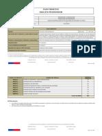 Plan Formativo Analista Desarrollador Aplicaciones