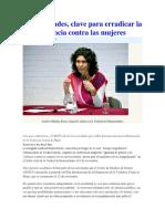 Universidades, Clave Para Erradicar La Violencia Contra Las Mujeres