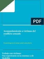 Acompañamiento a Víctimas Del Conflicto Armado