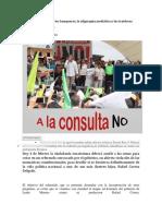 Ecuador 7 Veces NO a Los Banqueros, La Oligarquía Mediática y Los Traidores