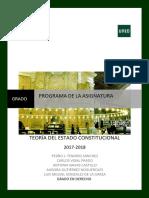 Programa Constitucional