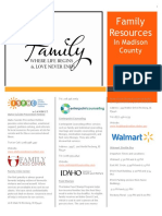family resource handout