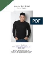 Dennis Toh CV Performer 2018
