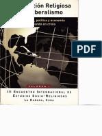 Globalización Religiosa y Neoliberalismo - Volumen I