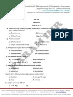 Copy of Internal Exam Date Sheet