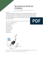 Informacion Conecion Ubiquiti Nano Loco m2