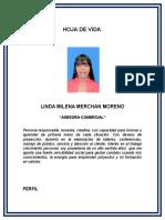 Hoja de Vida Milena Moreno 2017
