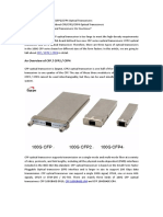How Much Do You Know About CFP CFP2 CFP4 Optical Transceivers