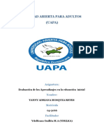Tarea-IV-Evaluacion de Los Aprendizaje en El Nivel Inicial