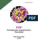 Plan de Gestión Pop 2018