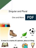 Singular and Plural Nouns (1)