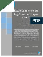 Establecimineto Del Ingles Como LenguaLeticia Rodriguez Rodriguez