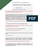 CCNA 1 Cisco v6.0 Exámen Final - Respuestas Del Exámen