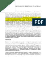 Parasitismo y Compensaciones Fisiológicas en Capibaras Estresados