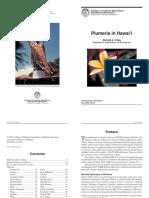 Cultivation Guide for Temple Trees, Frangipani, Plumeria in Hawai'i