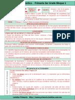 Plan 3er Grado - Bloque 1 Ciencias Naturales (2017-2018)