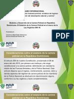 Presentacion Carrera Policial Para El MAP
