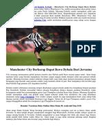 Manchester City Berharap Dapat Bawa Dybala Dari Juventus