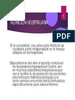 Nutricion-Enteral y Parenteral
