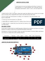Arduino Quick Guide123