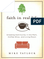 Faith in Real Life by Mike Tatlock, Excerpt