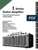 Yamaha guitar amplifier Thr Zv05630 r0 It Web