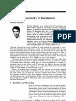 Fractals of Mandelbrot