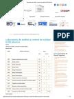 Laboratorio de Análisis y Control de Calidad (LOE) (Diurno)