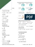 Formulas Fs200 Unidad i Oscilaciones