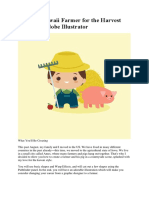 Create a Kawaii Farmer for the Harvest Season in Adobe Illustrator