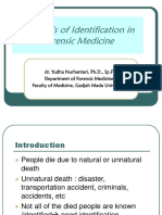 identification in forensic