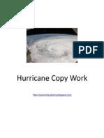 Hurricane Copywork