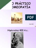 Curso Práctico de Homeopatía
