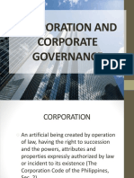 Chapter 1 Corporation and Corporate Governance
