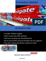 Colgate in Rural Market