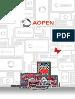 AOPEN Hardware Brochure 2018