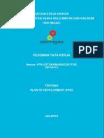 PTK 037 2017 Plan of Development