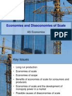 Economies and Dis Economies of Scale