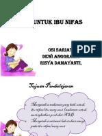 Materi 5 Nutrisi Untuk Ibu Nifas