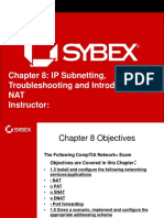Ch.8 Subnetting and PAT