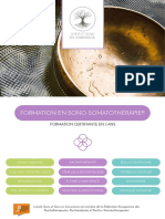 Brochure SSC (Web) - Formation en Sono-Somatothérapie