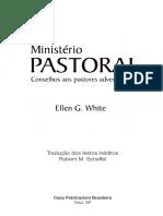 Ministerio Pastoral - White