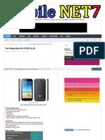 Cara Flashing Advan Star Fit S45C Pac file