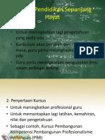Amalan Pendidikan Sepanjang Hayat