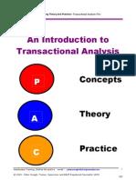 Introduction to Transactional Analysis