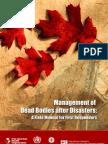 Dead Bodies Field Manual