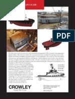 Ocean Classv TUG Spec Sheet