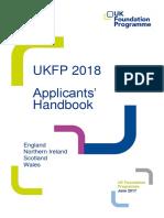 UKFP 2018 Applicants Handbook - FINAL